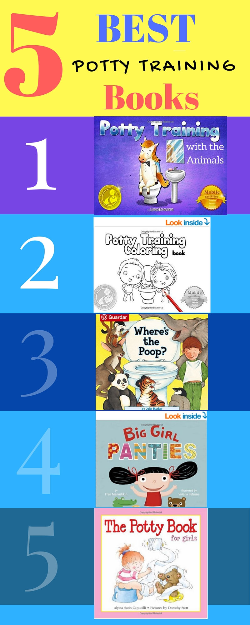 5 Top Potty Training Books (Best Potty training Books)